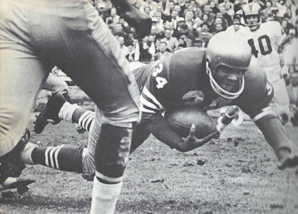Joe Perry of the San Francisco 49ers