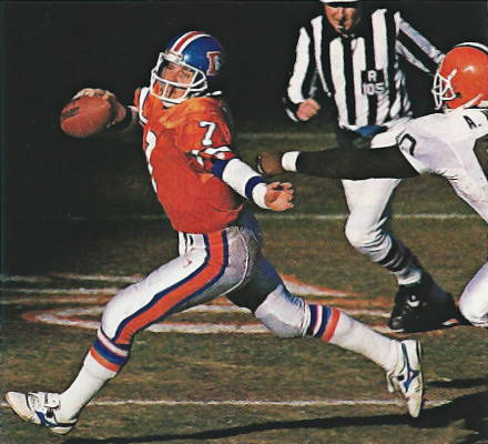 From the 1989 AFC Championship game against the Browns