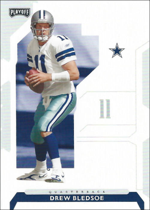 Drew Bledsoe 2006 Dallas Cowboys Donruss Football Card