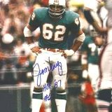 Miami Dolphins Hall of Fame Center Jim Langer