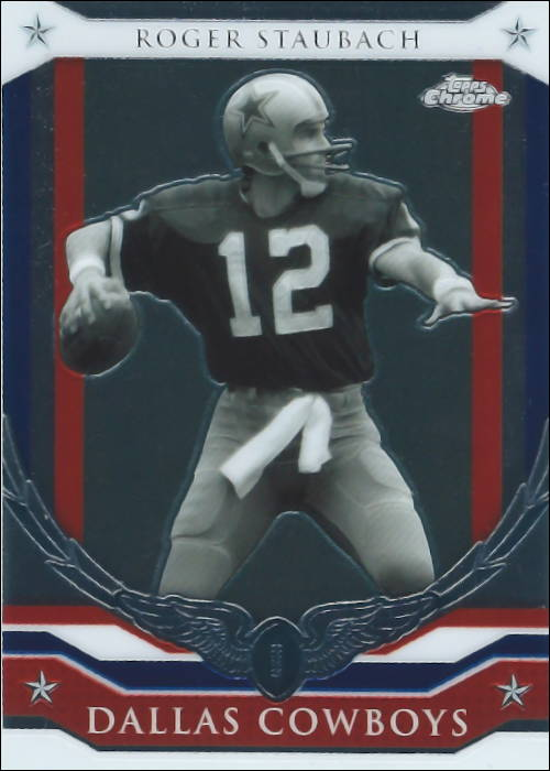 Roger Staubach 2008 Topps Commemorative Card