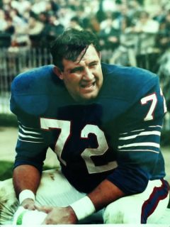 Ron McDole of the Buffalo Bills on the Sidelines
