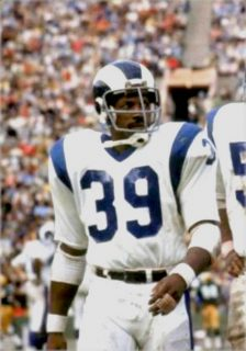 Kermit Alexander LA Rams Defensive Back 1970-1971