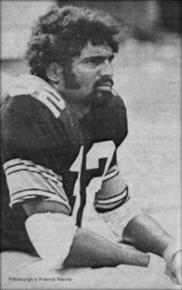 Fullback Franco Harris of the Pittsburgh Steelers