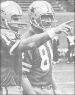 Roger Staubach and Jackie Smith of the Dallas Cowboys in 1978