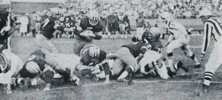 Paul Hornung Scores Against the 49ers in 1960