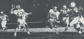Billy Cannon, Houston Oilers versus Los Angeles Chargers - 1960 AFL