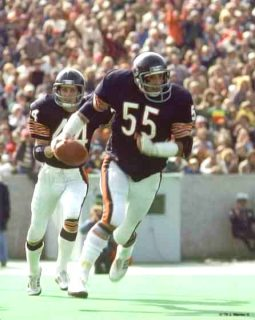 Defensive Back Terry Schmidt and Linebacker Doug Buffone Chicago Bears