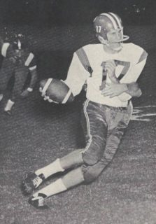 Don Meredith as an SMU Mustang