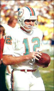 Miami Dolphins Quarterback Bob Griese