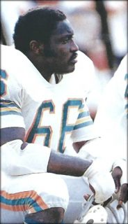 Offensive Guard Larry Little of the Dolphins