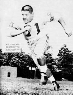 Alex Karras 1964 Detroit Lions