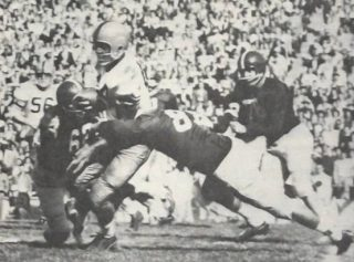 Jim Brown as a Syracuse Runner in the 1957 Cotton Bowl