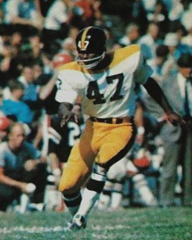 Pittsburgh Steelers Defensive Back Marv Woodson 1964-1969