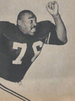 Gene Lipscomb Pittsburgh Steelers 1961 to 1962