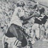 Lionel Taylor Touchdown Catch on Raiders   1960 AFL