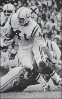 Baltimore Colts Runner Tom Matte