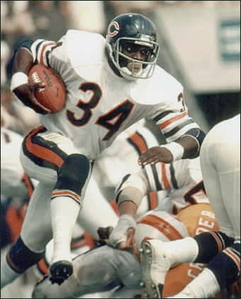 Chicago Bears Great Walter Payton