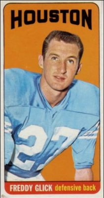 Fred Glick 1965 Houston Oilers Topps Football Card #76